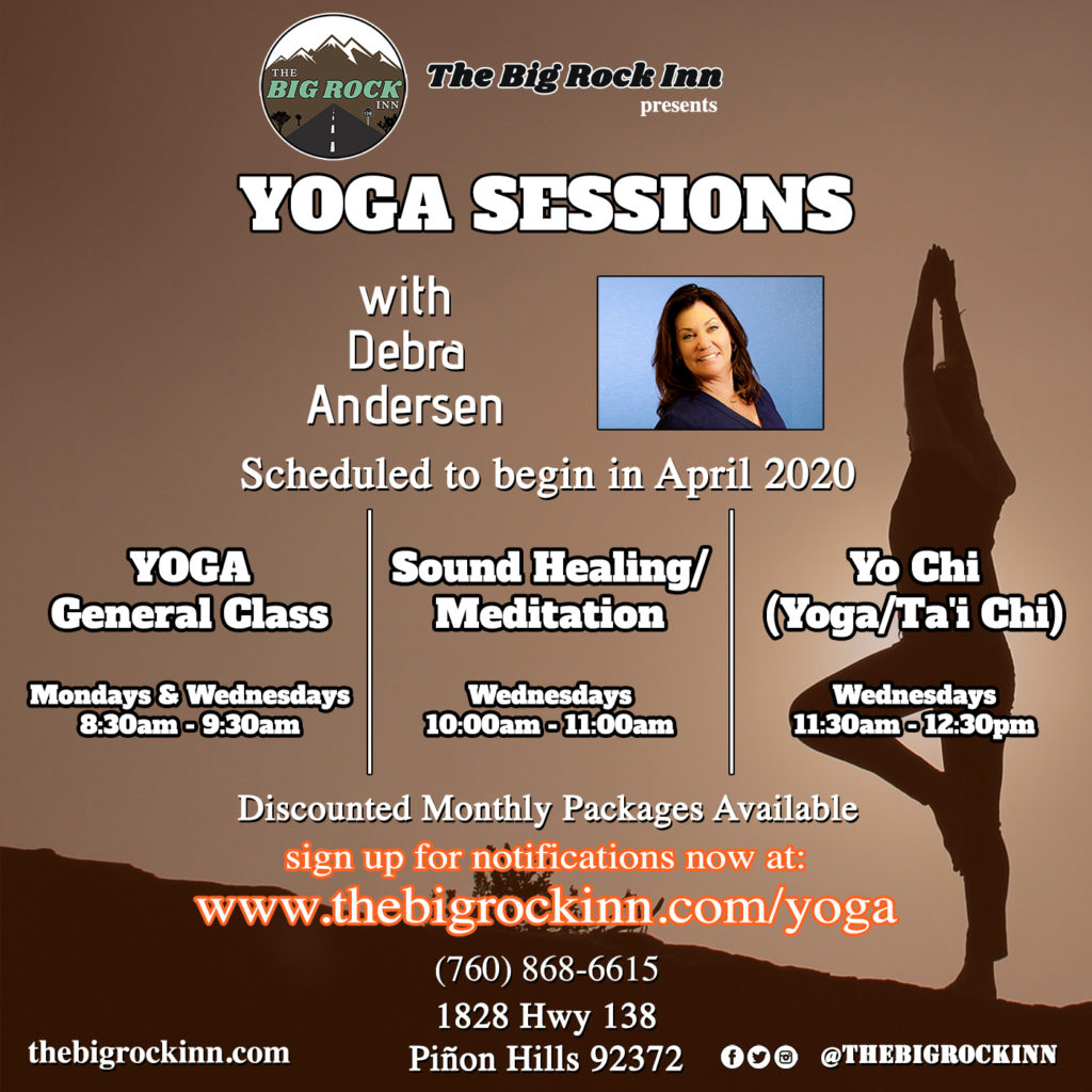 Yoga Sessions | The Big Rock Inn